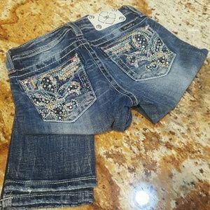 Tween Girls Miss Me Skinny Jeans (Size 12)